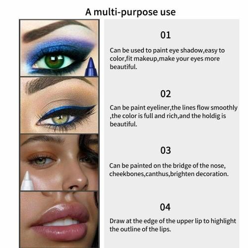 Long Lasting Waterproof Eyeliner Pencil Fashion Eye Makeup Cosmetics