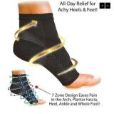 Anti-fatigue Compression Foot Socks with Heel Arch Ankle Support
