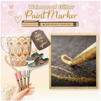 Waterproof Glitter Paint Marker