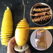 Potato Chips Spiral Cutter