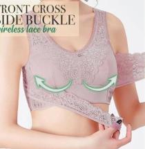 2020 Hot Products Front Cross Side Buckle Wireless Lace BRA SALE