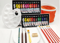 Gouache Premium Artist Paint, 20ml Tubes - Set of 12/24