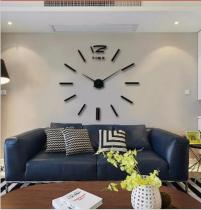 2020 New 3D Wall Clock Mirror Wall Stickers Fashion Living Room Quartz Watch DIY Home Decoration Clocks Sticker