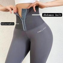 Ladies tummy tuck fitness butt lift pants