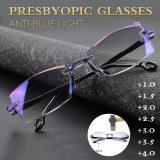 Anti-Blue Ray Progressive Far And Near Dual-Use Reading Glasses