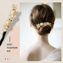 Lazy Flower Hairpin