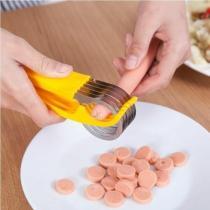 BANANA SLICER—HANDY KIDS CHOPPER FOR VEGETABLE CUCUMBER HOTDOG FRUIT