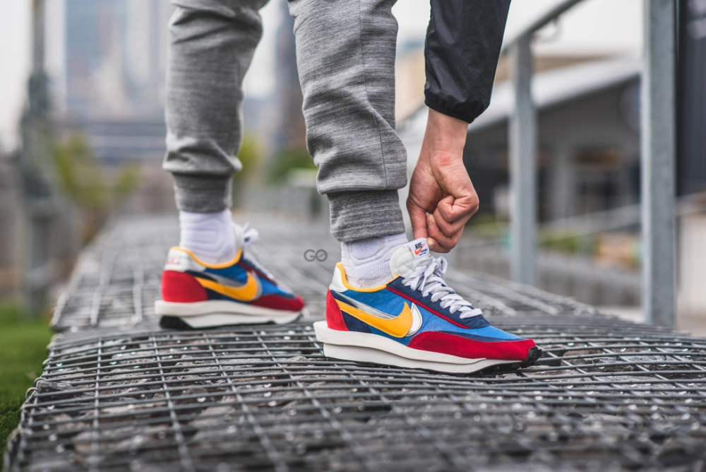 Madison Larry Belmont Merce  Nike LD Waffle Sacai Blue Multi - m.flamsneaker.com