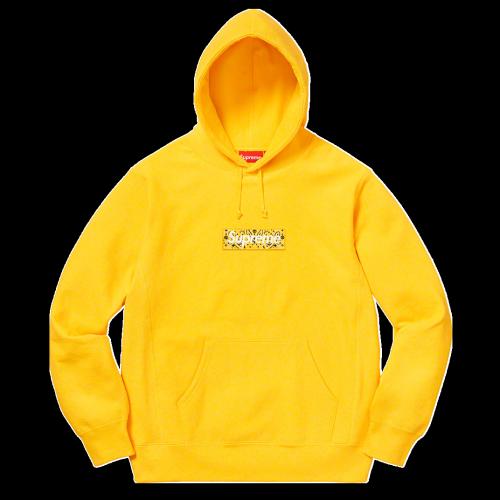 Supxxx Bandana Box Logo Hoodie Yellow