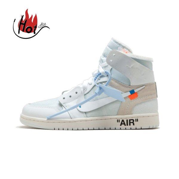 Jordan 1 Retro High Off-White White