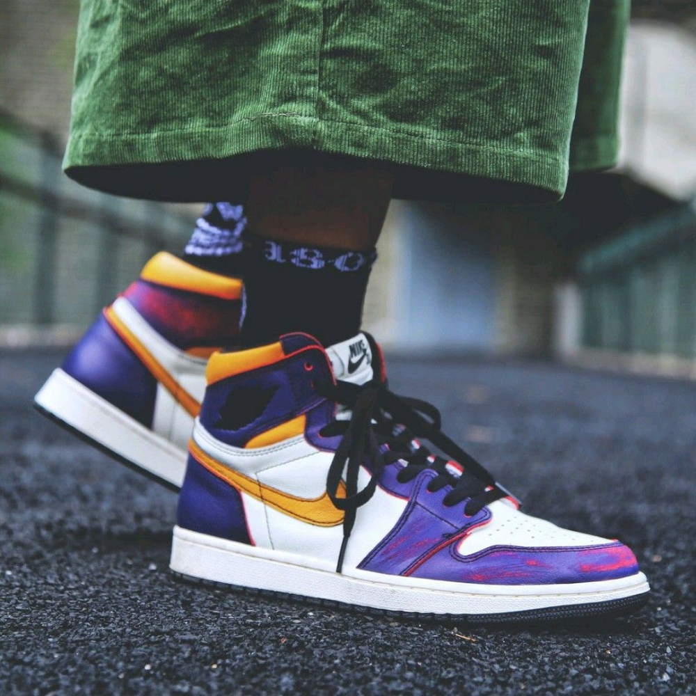 Jordan 1 Retro High OG Defiant SB LA to Chicago - m ...
