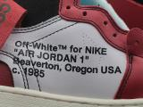 Jordan 1 Retro High Off-White Chicago