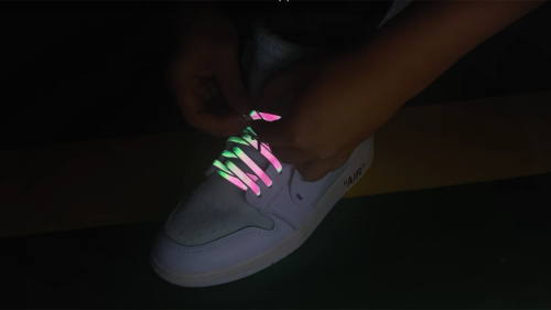 FLAM Reflective Flat Athletic Sport Sneaker Shoe Laces (ONLY SHIPPING WITH SNEAKER)