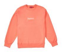 Supxxx Box Logo Crewneck (FW18) Fluorescent Pink