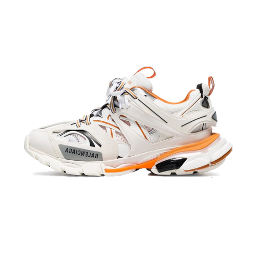 BCG Track White Orange