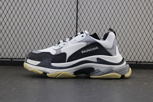 BCG Triple S Mesh, Nubuck and Leather Sneaker
