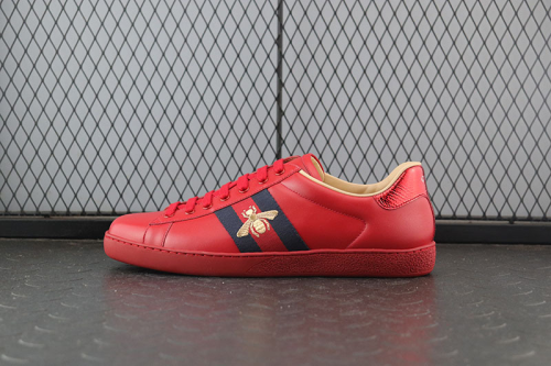 Guci Ace Sneakers red bee