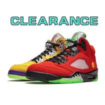 【Clearance】Air Jordan 5 Retro What The (US10)