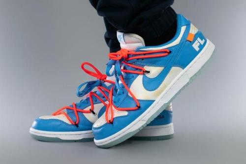 Nike Dunk Low SB Off White X Futura X SB 'UNC'