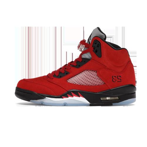 Jordan 5 Retro Raging Bull Red (Wood Box)