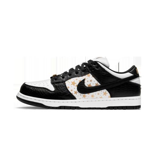 Supreme Nike SB Dunk Low White Black