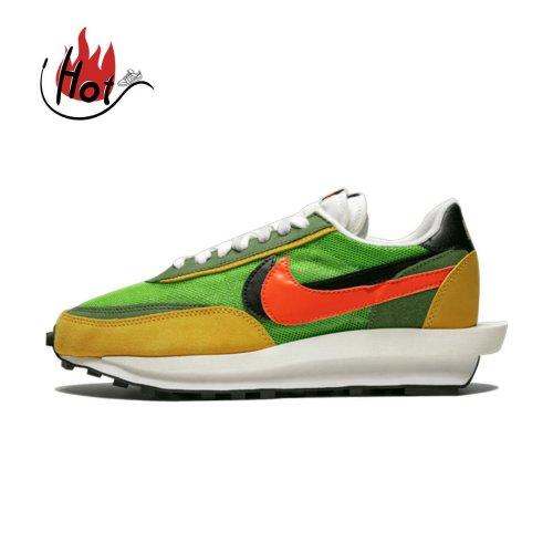 【Clearance】Nike LD Waffle Sacai Green Multi (US8)