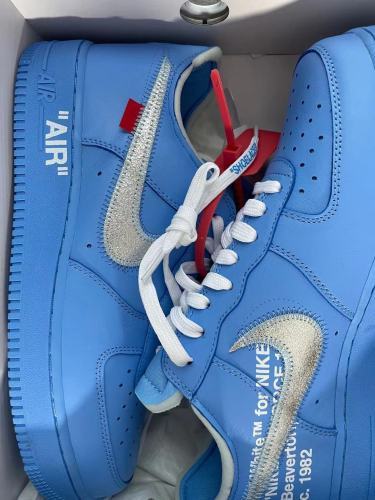 【Clearance】Air Force 1 Low Off-White MCA University Blue(US10.5)