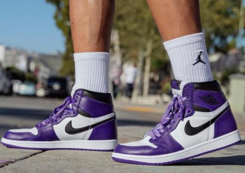 【Clearance】Air Jordan 1 New Court Purple White(US11)