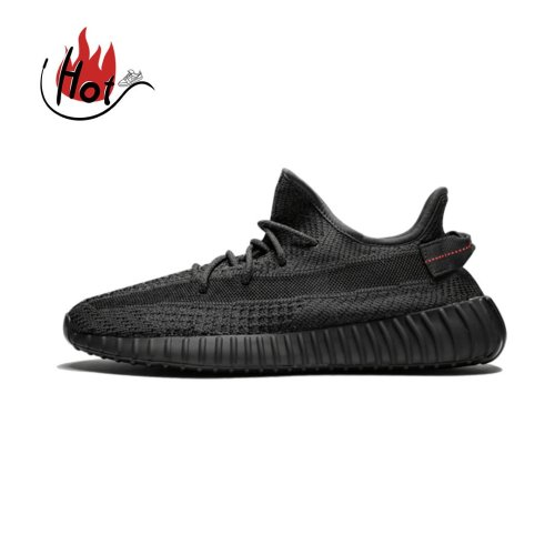 【Clearance】adidas Yeezy Boost 350 V2 Static Black Reflective (US4)