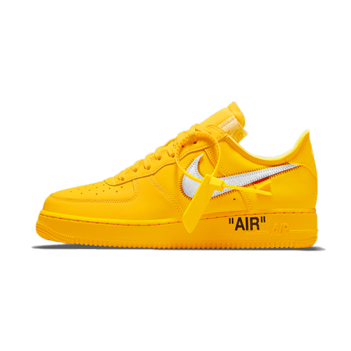 The Off-White x Nike Air Force 1 University Gold