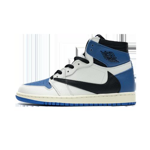 Air Jordan 1 Military Blue x Travis Scott x Fragment