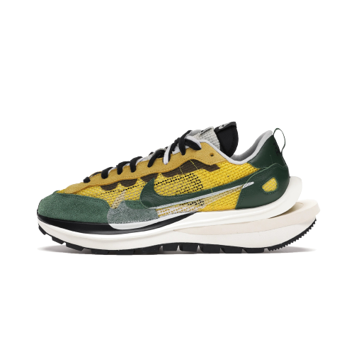 【Clearance】 Nike Vaporwaffle sacai Tour Yellow Stadium Green(US7)