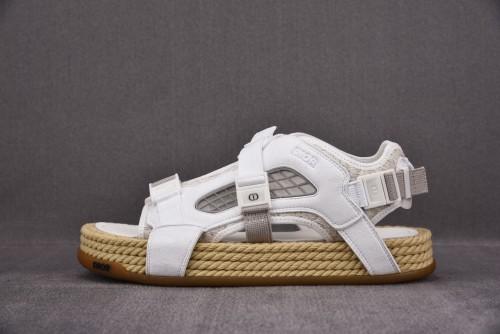 Dior Atlas Sandal White/Suede