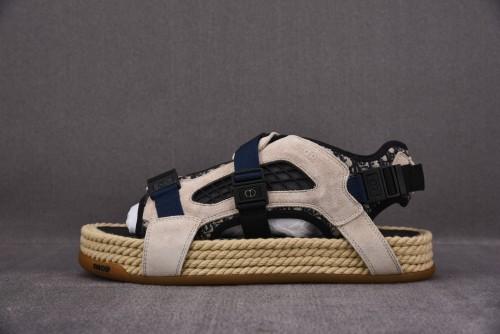 Dior Atlas Sandal Beige/Blue