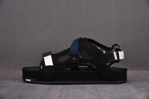 Dior Atlas Sandal Black/Sude