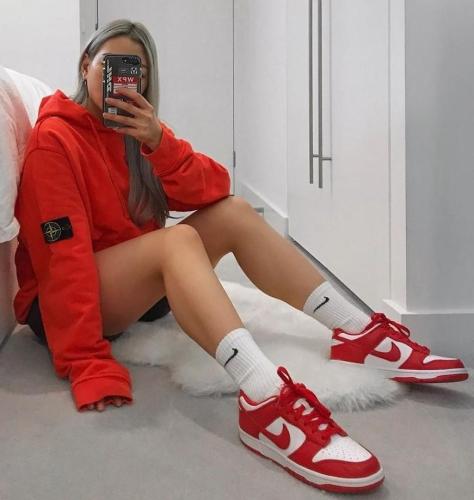 Nike Dunk Low University Red 2020