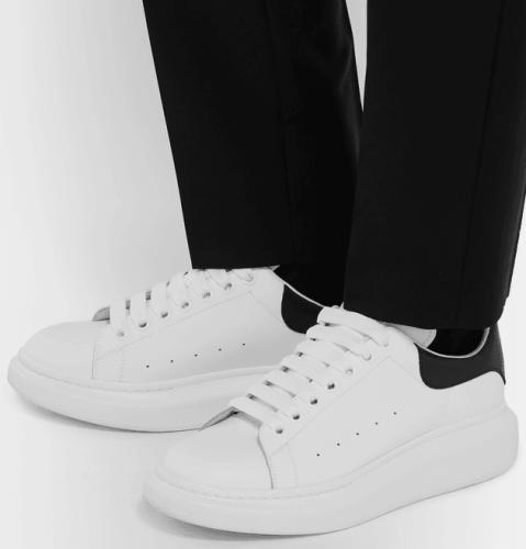 【Clearance】 MCQ sole sneaker White Black(EU39)