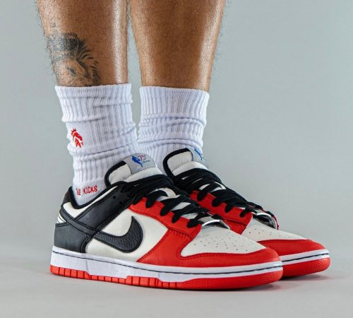 NBA x Nike Dunk Low EMB Chicago