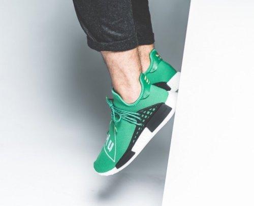 Pharrell x adidas NMD Human Race Green