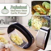 Professional Stainless Steel Garlic Presser