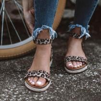 Ankle Strap Buckle Flatform Sandals