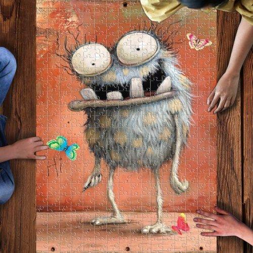 Hi, little monster! 1000 puzzle pieces