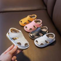 Bubble stripe sandals