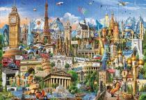 Puzzle Jigsaw- World Architectural Monument 1000 PCS