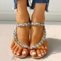 Women Rhinestone Fashion Sandals