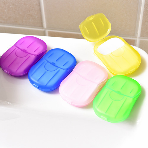 Mix Colors Outdoor Disposable Hand Washing Soap (5 boxes) TQZ910063