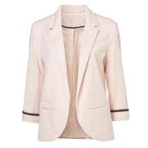 Pink 3/4 Sleeve Fashion Lady Suit TE10007-10