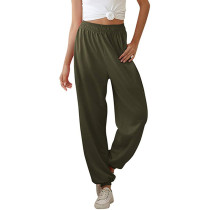 Army Green Pocketed Leisure Pant TQK520021-27