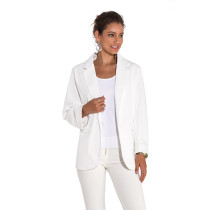 White 3/4 Sleeve Fashion Lady Suit TQD260025-1