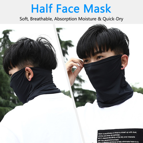Dark Gray Solid Multifunction Outdoor Mask TQZ910200-25